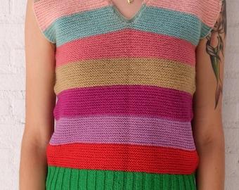 Rare Vintage Knitted Vest