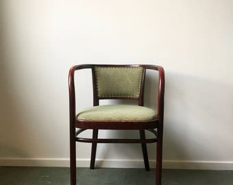 vintage chair thonet bentwood chair mid century chair thonet pfaff 10 original