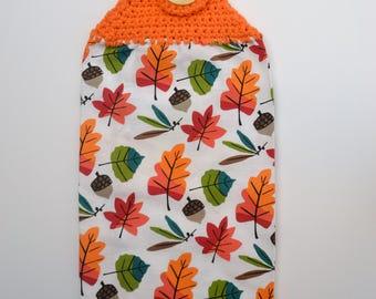 Hanging Tea Towel - Fall Leaves