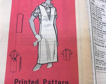 Sewing pattern vintage women's clothes