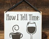 How I Tell Time | Sign | ...