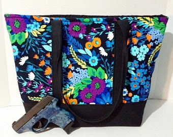 Extra Large Concealed Carry Tote