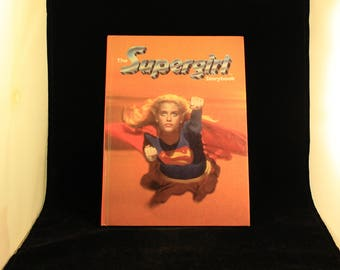 Vintage The Supergirl The Movie Children's Hard Cover Storybook 1984