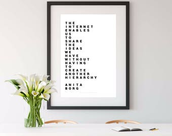 SCIENCE GIFT, computer programmer, computer science, computer nerd gift, inspirational quote, technology quote, tech quote, programmer gift