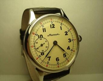 Men's Vintage Watch | Molnija Watch | Soviet Watch | Molnia Watch | Shturmanskie Watch | Vintage Watch | Watch Gift | Gift for Men |