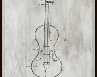 Swenson Violin Patent # 654859 dated July 31, 1900.