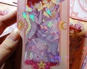 CCS Sakura Soulmate Holographic Bookmarks
