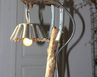 """Lampe industrielle """"Gâteau du Léman"""" By Recyclhome."""