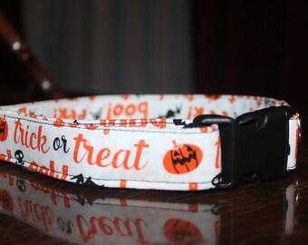 Halloween Trick or Treat Collar