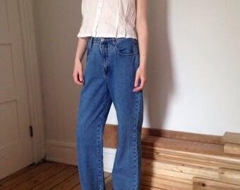 ribbon trim 90s jeans (28)