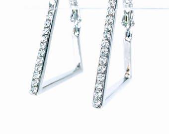 Parsec - Silver Statement Earrings