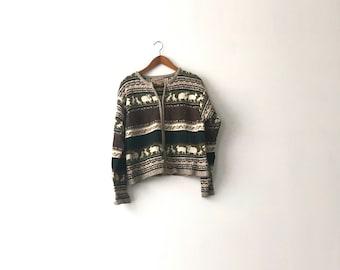90s Woolrich Full-Zip Sweater - Womens S