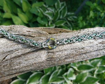 Swarovski Byzantine Bracelet