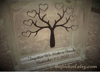 Together we Make a Family-Blended Family-Unity Ceremony-Sand Set-Tree-TPUWUS63