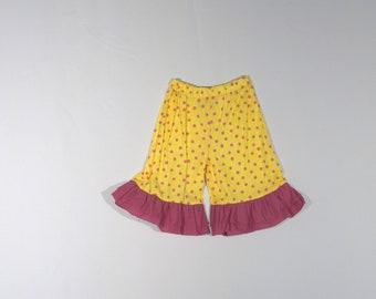 Yellow Polka Dot Child's Shorts