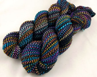 Starburst - Worsted weight hand spun yarn - BFL/Seacell/Merino