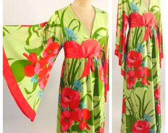 1970's Kimono style Dress