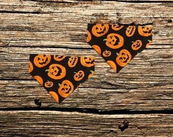 Halloween No Tie Pet Bandana