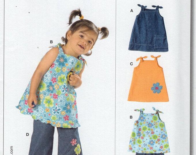 Burda Start 9708 Sewing Pattern Free Us Ship Uncut Size 6 9 12 18 mo 1 2 3 Toddler Boho Tie Shoulder Top Pants New uncut Baby