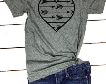 Boho Arrow tshirt, Love Arrow Shirt, Boho Shirt, Cute Boho Shirt, Cute Arrow Shirt, Cute Mom Shirt, Mom Life, Fall Shirt, Arrow Shirt