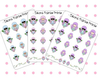 Fairy Finance Pay Day No spend planner Stickers L3 S3 C3