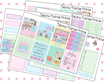 Original Sugar Full Planner Kit Bakery