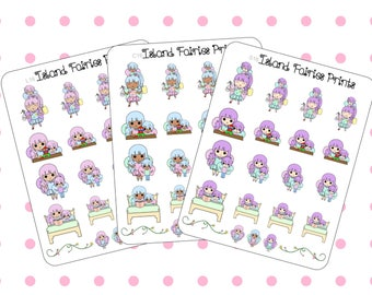 Mom Life Toddler Boy Fairies Planner Stickers S16 L16 C16