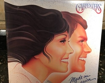 "The Carpenters  - ""Made in America"" Sealed New NOS Album - Vintage LP Vinyl  - Free Shipping!"