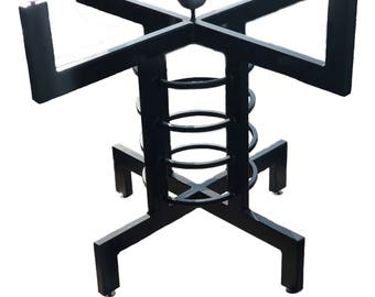 Round Dining Table, Pedestal Table Base, Custom Metal Table Legs, Bistro  Table,