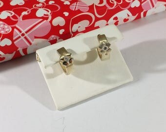 Silver 925 Earrings Crystal Stainless SO355