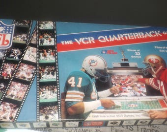 BLOWOUT! Vintage (c.1986) The NFL VCR Quarterback game by Interactive Games Inc. 100% Complete!