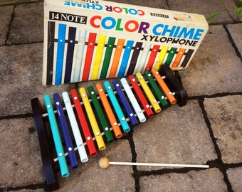 14 Note Color Chime Xylophone