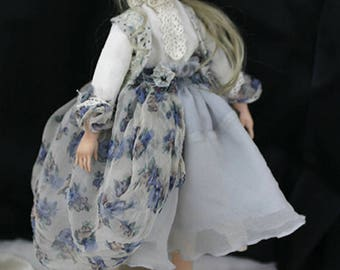 OOAK doll, collectible doll, called Michelle boudoir doll