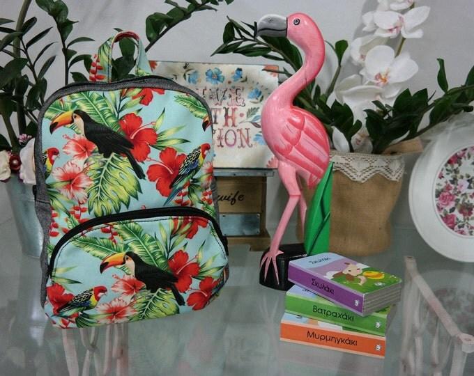Baby School Parrots Backpack
