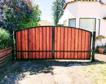 Driveway gate etsy for Driveway gates online