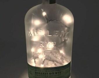 Bulleit Rye Bottle Light / Gifts for Men / Gift Ideas