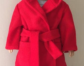 Fits American Girl (boy) doll: Robe, pajamas, and slippers