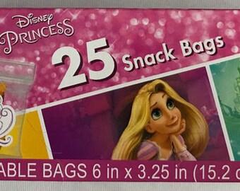 Disney Princess ''Dream Big'' Snack Bags 25ct