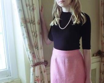 Chanel Style Mini Skirt