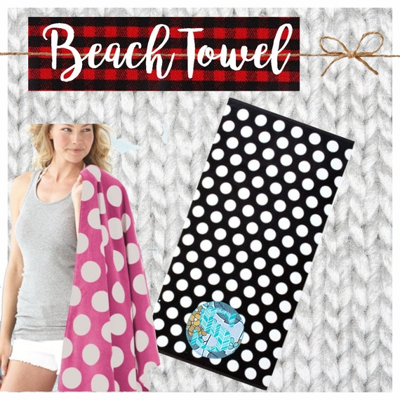 CYBER MONDAY 2017 SALE!  Applique Beach Towel, Decorative Towel, Kids Towel, Beach, Pool, Cruise, Gift, Custom, Personalized, Initial