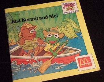 "Vintage 1988 Jim Henson's Muppets Presents ""Just Kermit and Me!"""