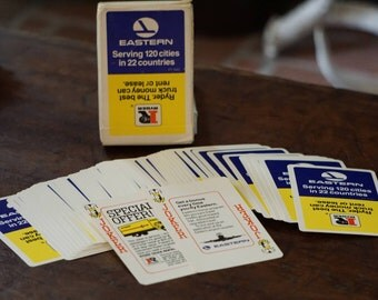 Eastern Airlines/Ryder Playing Cards