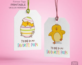 Easter gift Tags, Easter Tags, DIY Easter Tag, Printable Easter, chick, Tags, Instant Download