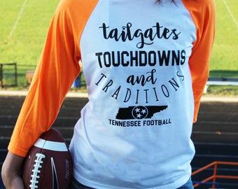 Tennessee Shirt - UT Vols - Football Shirt - Tennessee Vols - Game Day - Tennessee Vols Shirt - Rocky Top - Football - Vols Football Shirt