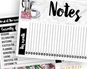 La Cucina Notes Pages Kit - Planner Stickers