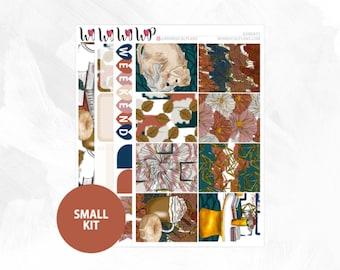 Sundays Small Kit | Matte Glossy Planner Stickers