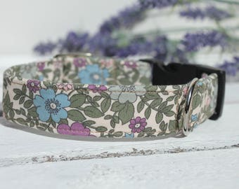 Dog Collar Garden Flowers