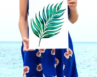 Original Watercolor Painting by Heartmade