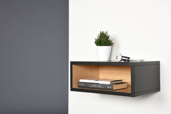 open floating nightstand hall floating table entryway console. Black Bedroom Furniture Sets. Home Design Ideas