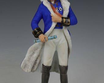 "Kaiser Porcelain figurine napoleonic soldier ""Ney"""